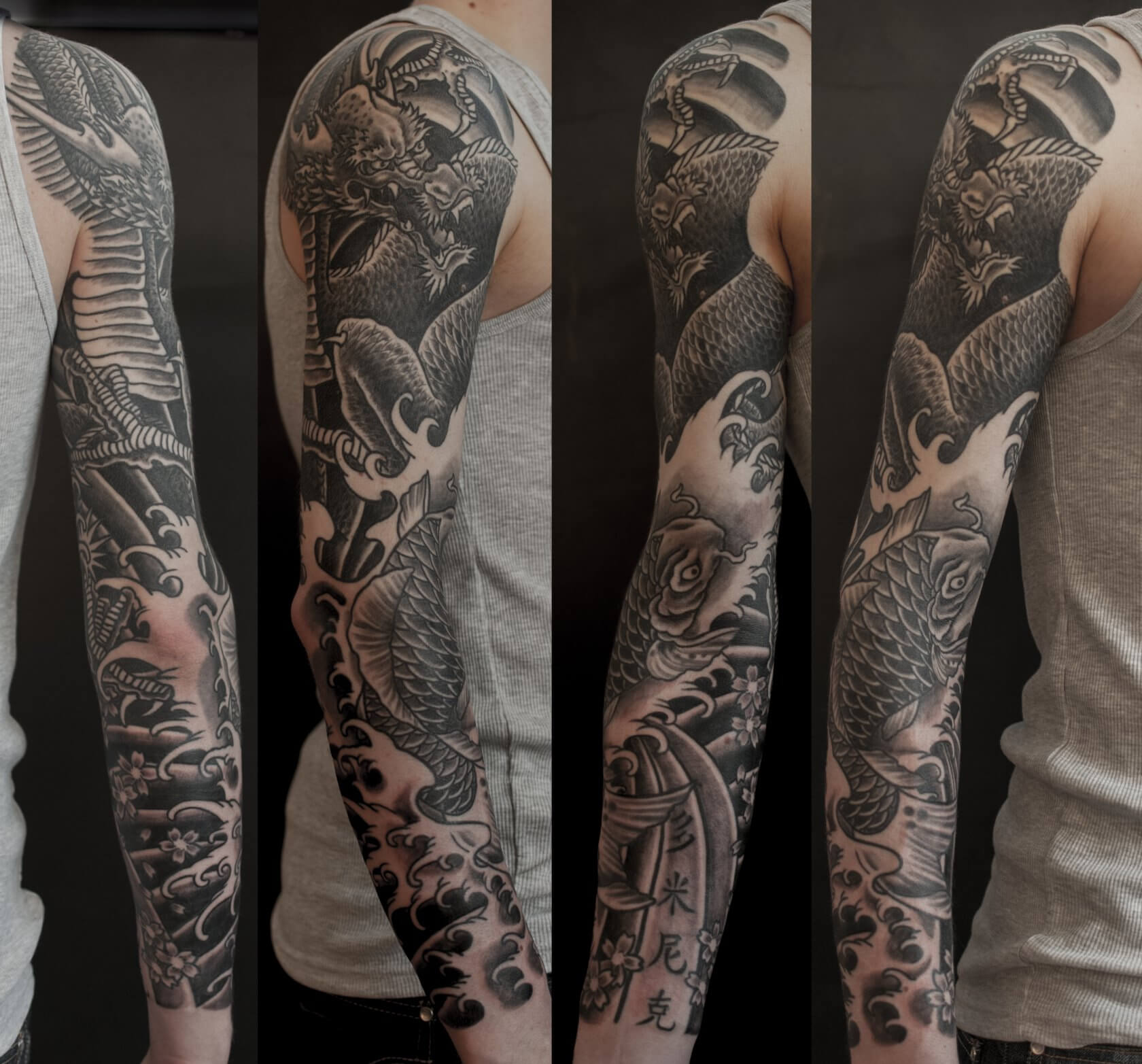 tattoo japanisch arm